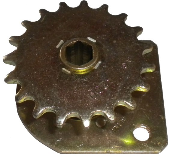 488 123645 Drive Sprocket 19 Tooth 41 Chain Working