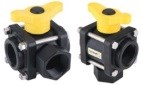 BANJO 3-WAY BALL VALVES